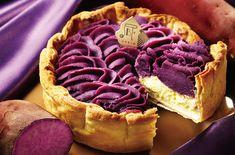 Okinawa Purple Yam Cheese Tart @ PABLO