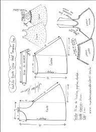 Hasil gambar untuk moldesde roupas até 4 anos . feminina