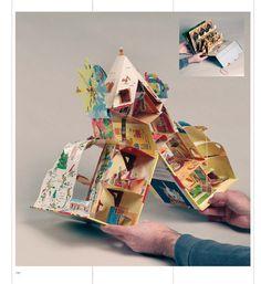 art du pop-up (l& Pop Up Art, Arte Pop Up, Art For Kids, Crafts For Kids, Diy And Crafts, Casa Pop, Pop Up Card Templates, Magazine Crafts, Origami Paper Art