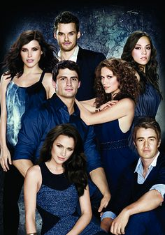 Sophia Bush, Austin Nichols, Jana Kramer, James Lafferty, Bethany Joy Galeotti, Shantel Van Sateen, and Robert Buckley