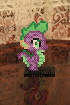 Chibi Pony Series Spike the Dragon by StormyandAkirasWorld on Etsy, $5.50