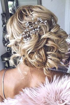 Killer Swept-Back Wedding Hairstyles ❤ See more: http://www.weddingforward.com/swept-back-wedding-hairstyles/ #weddings #hairstyles