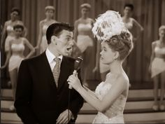 Frank Sinatra and Gloria DeHaven in ''Step Lively'' (1944).