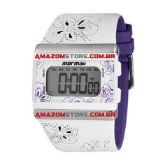 Relógio Digital Feminino Y9443A/8G - Mormaii Por: R$ 160,00 Pague à vista R$ 150,40 (2) ou em até 6X de R$ 26,67 em todos cartões de crédito http://www.amazomstore.com.br/detproduto.asp?idproduto=25478