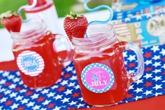 4th of July Party Idea Roundup - Party on a Budget Ideas - Kara's Party Ideas - The Place for All Things Party