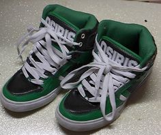 OSIRIS GREEN NYC 83 VLC HIGHTOP SNEAKERS SHOES SIZE 5.5
