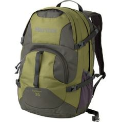 "Marmot Gunnison 35L Daypack - Dick's Sporting Goods  $80.  Capacity: 35 L.  Dimensions: 20"" x 12.5"" x 11"".  Weight: 1 lb 14 oz"