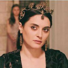 """Turkish Aslıhan Gürbüz as Halime Sultan - Magnificent Century: Kosem - """"The Die is Cast! (Ok Yaydan Cikti!)"""" Season 1, Episode 14"""