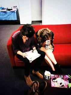 Harry Styles + Gemma Styles