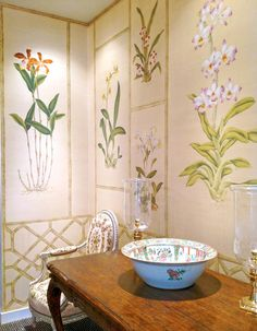de Gournay:  Available through your Professional Interior Design Purchasing Firm at InteriorDesignerShowroom.com 1-888-373-4564