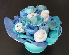 Baby Bear Boys Bouquet by AmandaPandaCrafts on Etsy, $35.00