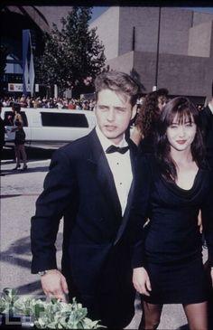 Jason Priestley & Shannon Doherty, 1991