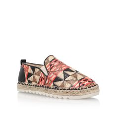 Nine West Noney2 flat espadrille sneakers, Multi-Coloured
