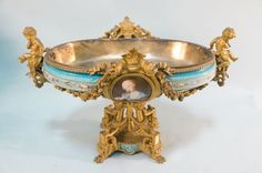 18th CENTURY FRENCH BRONZE SEVRES COMPOTE : Lot 76