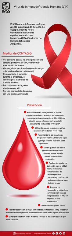 El VIH es una infección viral que afecta las células de defensa del cuerpo.