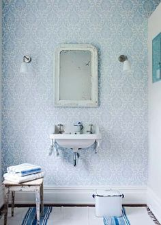 Love the feeling this gives -- Ashby Damask wallpaper from Sanderson