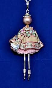 french doll necklace - Google Search