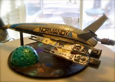 Mass Effect Normandy nerdy cake design