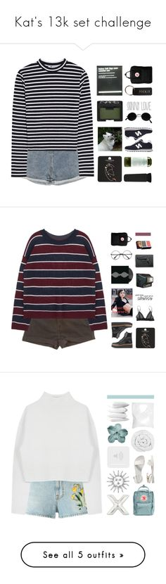 """""""Kat's 13k set challenge"""" by spriingy ❤ liked on Polyvore featuring kats13k, T By Alexander Wang, Topshop, NARS Cosmetics, New Balance, Kiehl's, Fjällräven, Tod's, Revolver and Gucci"""