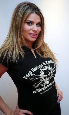 La actriz María Lapiedra posa en nuestras instalaciones
