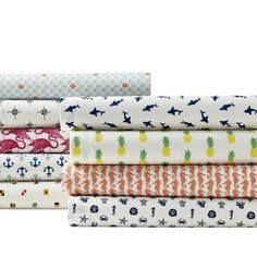 Who said sheets have to be plain! Poppy & Fritz Sunshine Patterns~