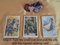Step 2 of the Future Soul Mate Lover Tarot Spread