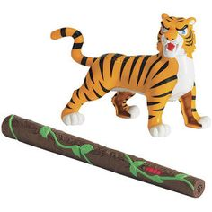 Hide and Seek Safari Tiger - Educational Toys, Specialty Toys and Games - Creative, Award Winning for Science, Math and More | Young Explo...