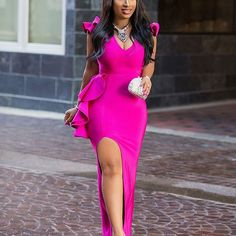 Weekend blog post ALERT 📍📍📍📍 Check out the link in bio for more looks of this gorgeous dress. #chicamastyle #chicadiva #blogger #bloggerfashion #fashionblogger #fashion #fashionchic #fashiongram #fashionaddict #fashionguru #fashiongram #fashion #instaglam #instadaily #fashionph #fashiongirl #fashionbloggerstyle #ootdfashion #ootdinspiration #essence #pink #dress #style #stylechic #styleblogger #styleinfluencer #ruffled #tulip #dress #guesting #weddingguest Ruffled Tulip Dress @_divabby…