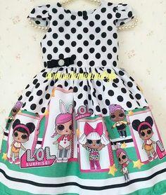 Gente, e esse vestidinho Lol Surprise?. As meninas piram!!! By @maedemeninaloja #lolsurpriseparty