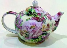 Chintz Bone China - beautiful large roses!