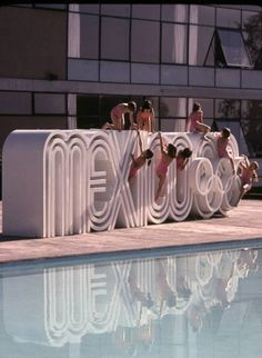 Mexico with Olympic Sign
