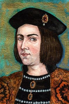 Edward IV (Brother of Richard III) by Mark Satchwill artist 2008