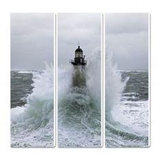 Photo sur toile Le phare d'Ar-Men - Finistère - Bretagne Philip Plisson