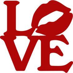 Silhouette Design Store - View Design #120146: love kiss
