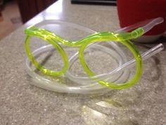 Мои супер очки с трупкой