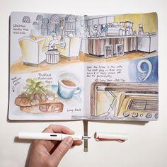 The Journal Diaries- Elaine's Sketchbook