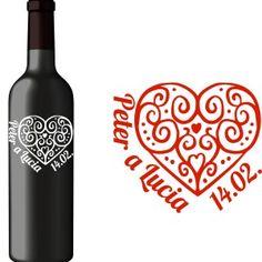 Svadobná etiketa axelia Red Wine, Alcoholic Drinks, Glass, Drinkware, Corning Glass, Liquor Drinks, Alcoholic Beverages, Liquor, Yuri