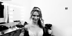 The Many Moods Of A VS Angel — In 31 Irresistible GIFs #refinery29  http://www.refinery29.com/victorias-secret-angel-gifs#slide8  Like Behati (and Beyoncé), you're so crown.