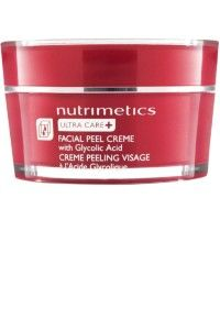 Ultra Care+ Facial Peel Creme | This cream is great for clearing blackheads, dead skin and sunspots or damaged skin in your sleep!  With it's glycolic acid natural ingredient, you apply this cream at night for a 1 month period. Cleanse, tone and moisturize in the morning as per normal. It's great! www.nutrimetics.com.au/BeautifulRuby