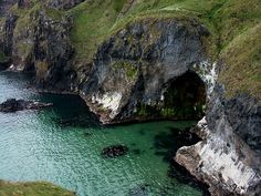 Carrick-a-Rede near Ballintoy, County Antrim, Northern Ireland by yakshini, via Flickr