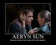 Doing these Farscape (de)motivational posters was so much frelling fun I did a few more! There. No more. Promise. :)