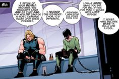 Loki: Agent of Asgard #1. Seeing the first three speech-bubbles of this frame may or may not have been what made me subscribe to the series...