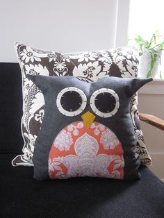 In my personal opinion, you just cannot go wrong with a good owl pillow.