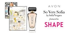 Shape Magazine featured So Very Sofia by Sofia Vergara as the fragrance that embodies confidence. So Very Sofia is a floral-based fragrance that encourages women to never be afraid to be their true selves. #AvonRep