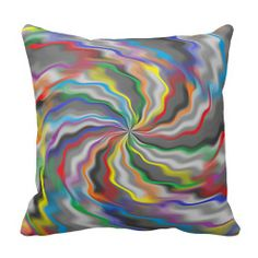 Flourishing Colors Pillow