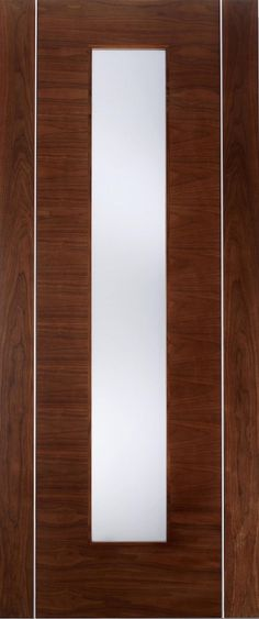 Leeds Doors Alcaraz Galzed Flush Door 78x30x35mm Walnut - internal doors - walnut - Alcaraz Galzed Flush Door 78x30x35mm Walnut - Timber, Tool and Hardware Merchants established in 1933