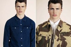 A.P.C. Spring 2013 Lookbook Preview