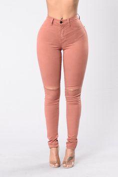 Canopy Jeans - Mauve