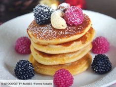 Buttermilk Pancakes, Breakfast Time, Herbalife, Cookies Et Biscuits, Almond, Oatmeal, Brunch, Food And Drink, Appetizers