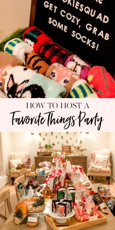 Cookie Squad Favorite Things Party